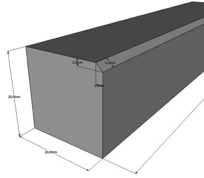 Bordures En Béton Gris 20x100 - Déco-Ouest