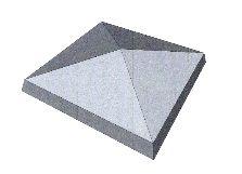 Chapeau de pilier pointe diamant